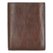 Piquadro B2S Börse mit zwei Ausweisfentstern 12.5 cm braun Herren