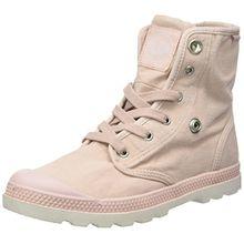 Palladium Damen Baggy Low LP Sneaker, Pink (Rose Dust/Silver Birch), 40 EU