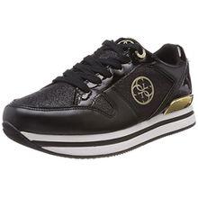 Guess Damen Footwear Active Lady Sneaker, Schwarz (Black Black), 36 EU
