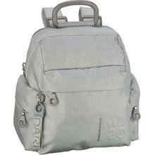 Mandarina Duck Rucksack / Daypack MD20 Lux Small Backpack QNTT1 Silver