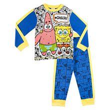 Spongebob Schwammkopf Jungen SpongeBob SquarePants Schlafanzug 110
