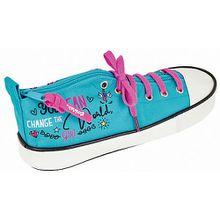 Schlampermäppchen Schuh glowlab Dreams türkis Mädchen Kinder