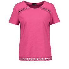 TAIFUN T-Shirt dunkelpink