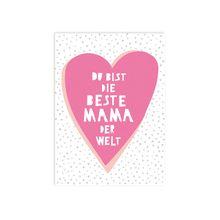 "Perunoto Postkarte \Beste Mama der Welt\"""""