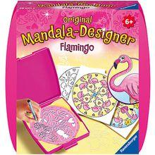 Original Mandala-Designer: Flamingo, Mini