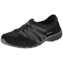 Skechers ConversationsHolding Aces, Damen Sneakers, Schwarz (BKCC), 37 EU