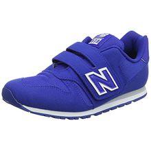 New Balance Unisex-Kinder Kv373v1y Sneaker, Blau (Blue), 32.5 EU