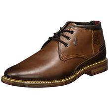FRETZ men Men's Desert Boots Andrew Andrew Andrew Andrew Andrew, Braun (Cavallo), Gr. 42 (UK8)