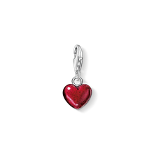 Thomas Sabo Charm-Anhänger Rotes Herz rot 0794-007-10