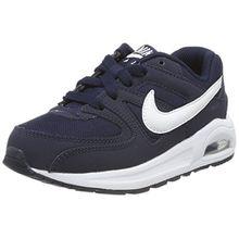 Nike Unisex-Kinder Air Max Command Flex (PS) Sneaker, Blau (Obsidian/White-Black), 33 EU