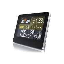 Bearware Funkwetterstation mit LCD Farbdisplay inkl. Außensensor »Wettervorhersage-Piktogramm«