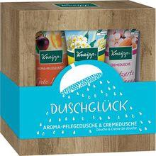 Kneipp Pflege Duschpflege Duschglück Geschenkset Aroma Pflegedusche Gute Laune 75 ml + Cremedusche Hautzarte Verwöhnung 75 ml + Aroma-Pflegedusche Lebensfreude 75 ml 1 Stk.