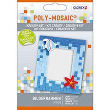 Poly-Mosaikset Bilderrahmen Fisch