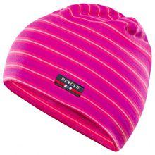 Devold - Breeze Kid Cap - Mütze Gr 54 cm blau/schwarz;rosa;blau/grau;grau/rosa;grau/blau/schwarz