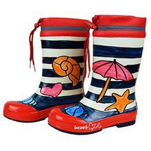 Maximo 73203 - Kinder Gummistiefel Regenstiefel Beach Girl (24)