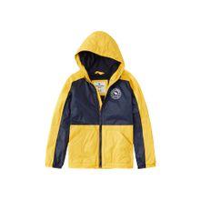 Abercrombie & Fitch Jacken 'SB19' nachtblau / gelb / weiß