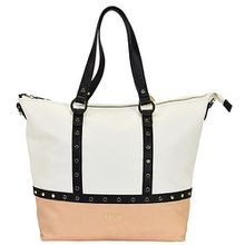 LIU JO Shopping Orizzontal Shopper Tasche 32 cm beige Damen