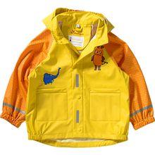 Kinder Regenjacke Maus gelb Mädchen Kleinkinder
