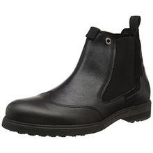 nobrand Herren Maverick Chelsea Boots, Schwarz (Black), 45 EU