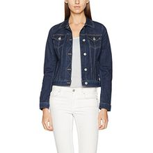 Mustang Damen Jeansjacke Iconic Dnm Jacket, Blau (Rinse 092), Medium