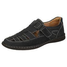 Sioux Sandale Elcino-191 Klassische Sandalen blau Herren