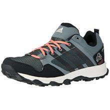 adidas Damen Kanadia 7 Trail GTX Traillaufschuhe, Grau (Vista Grey/Core Black/Super Blush), 42 EU
