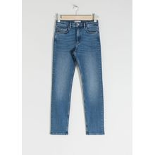 Straight Slim Jeans - Blue