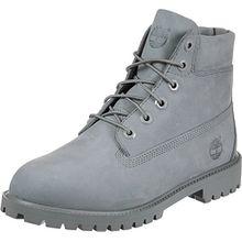 Timberland Unisex-Kinder 6 in Classic Boot Klassische Stiefel, Grau (Grey Monochromatic 65), 38 EU