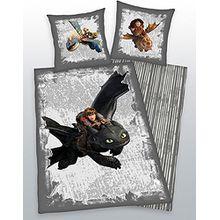 Dragons Wendebettwäsche Bettwäsche 135x200 von Herding 44262 08.050 521