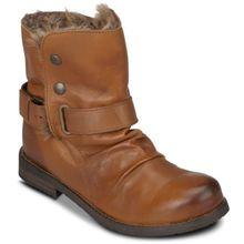 Buffalo Boots cognac