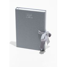 A5 Book Set With Two Japanese Bound Notebooks - Grey