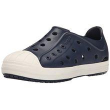 crocs Bump It Shoe Kids, Unisex - Kinder Low-Top, Blau (Navy/Oyster), 30/31 EU
