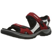 Ecco OFFROAD, Damen Sport- & Outdoor Sandalen, Rot (CHILI RED/CONCRETE/BLACK55287), 36 EU (9 Damen UK)