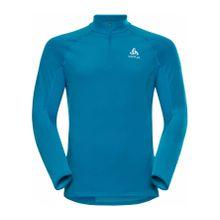 Odlo - Zeroweight Warm 1/2 Zip Herren Laufshirt (blau) - L