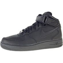 NIKE JUNIOR SHOES AIR FORCE 1 MID (GS) - Farbe: Schwarz - 38