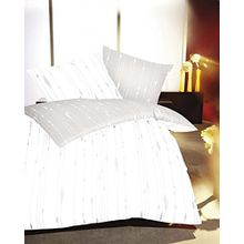 Kaeppel Mako Satin Bettwäsche Essential Cocoon Größe 155x220+80x80 cm Farbe Creme