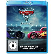 BLU-RAY Cars 3 - Evolution Hörbuch