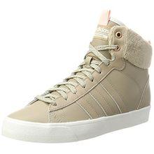 adidas Damen CF Daily QT WTR W Hohe Sneaker, Beige (Trace Khaki/Icey Pink), 40 EU