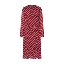 ICHI Kleid IXELINE DR Sommerkleider rot Damen