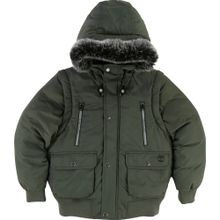 TIMBERLAND 2 in 1 Winterjacke grün / khaki