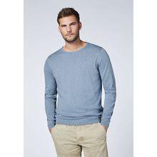CHIEMSEE Pullover mit Kaschmir Anteil dunkelblau Herren