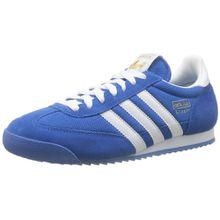 adidas Originals Dragon, Unisex-Erwachsene Sneakers, Blau (Bluebird/White/Metallic Gold), 46 EU (11 Herren UK)
