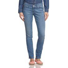 Levi's Damen Skinny Jeans Low Trend Core Demi, 14108, Gr. W27/L34 (Herstellergröße: 27), Blau (Hell-Blau)