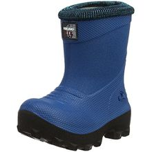 Viking Frost Fighter, Unisex-Kinder Warm gefütterte Schneestiefel, Blau (Blue/Black 3502), 33 EU
