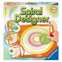 Spiral-Designer Midi, mit 4 Zahnrädern & Mandalaschablone