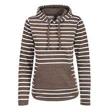 Blend She Carina Damen Hoodie Kapuzenpullover Pullover Mit Kapuze, Größe:L, Farbe:Mocca Mix (70816)
