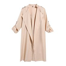 HOTOUCH Damen Trenchcoat Mantel Small Gr. L, beige