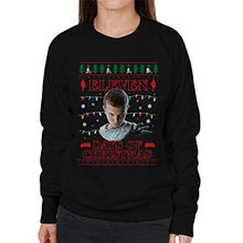 Stranger Things Eleven Days Of Christmas Knit Women's Sweatshirt
