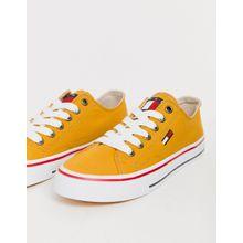 Tommy Jeans - Tief geschnittene Sneaker - Gelb