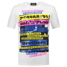 Dsquared2 T-Shirt - Weiß (L, M, S, XL, XXL)